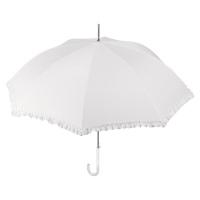 Дамски сватбен чадър Perletti, екрю
