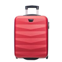 Малко компактно куфарче за ръчен багаж на две колела Puccini Majorca в червено