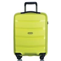 Яркозелен твърд куфар за ръчен багаж с модерен дизайн Puccini Acapulco 55см