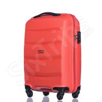 Малък оранжев куфар за ръчен багаж Puccini Acapulco 55см