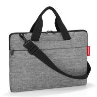Удобна сива чанта за лаптоп 15.6