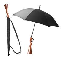 Черен оригинален чадър пушка Balvi