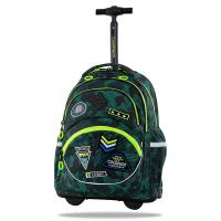 Зелена раница на колела тип камуфлаж CoolPack STARR Badges BGREEN