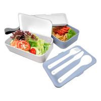 Практични кутии за храна 2бр. с прибори и херметическо затваряне Vin Bouquet Nerthus