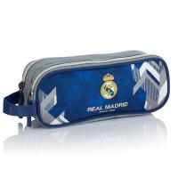 Несесер с две отделения синьо и сиво Real Madrid Color 5 RM-177