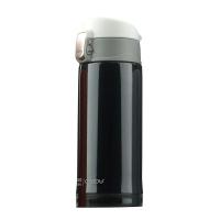 Стилен черен термос за напитки Asobu Mini Diva 200мл