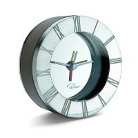 Малък алармен часовник Philippi Alegro с кожен калъф