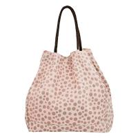 Чанта на бежови точки за плаж или за ежедневието HatYou