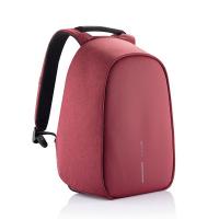 Червена дамска раница за път или ежедневието XD Design Bobby Hero Small побираща и малък лаптоп 13.3