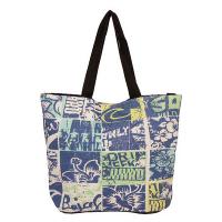 Дамска плажна чанта със свеж дизайн в синьо HatYou 50см