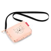 Малка детска розова чантичка за през рамо Reisenthel Itbag, kids cats and dogs rose, момиче