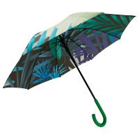 Чадър с автоматично отваряне Fisura с флорални елементи