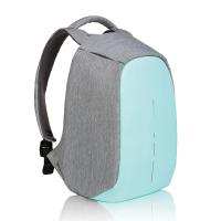 Синя раница за път или ежедневието XD Design Bobby Compact побираща лаптоп 14