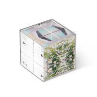 Стъклено кубче-фоторамка Umbra Ice Frame