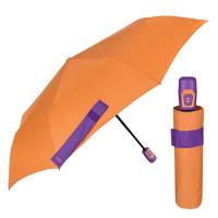 Свеж чадър в оранжево и лилаво Perletti Time, автоматичен