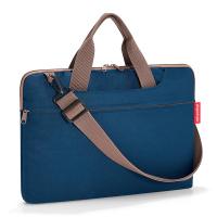 Удобна тъмносиня чанта за лаптоп 15.6