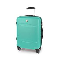 Зелен куфар подходящ за ръчен багаж Gabol Orleans 55см