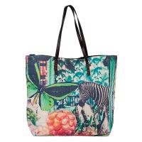 Лятна дамска чанта за плажа Зебра