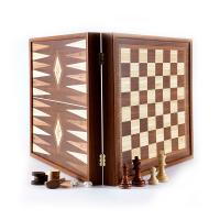 Шах и табла с класически дизайн Manopoulos