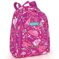 Малка ученическа раница за момиче Gabol Toy в розов цвят