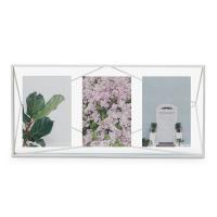 Бяла дизайнерска рамка за две или три снимки Umbra Prisma Multi