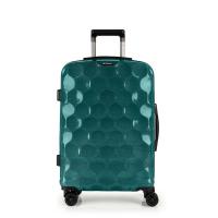 Стилен куфар в цвят тюркоаз среден размер 65см Gabol Air