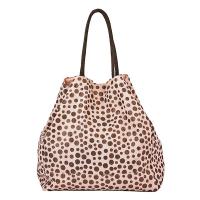 Черна чанта на точки за плаж или за ежедневието HatYou