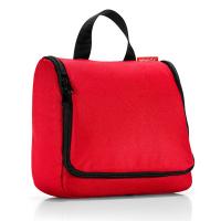 Червена чанта за тоалетни принадлежности за пътуване със закачалка Reisenthel Toiletbag XL