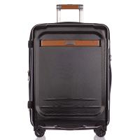 Черен куфар среден размер 88 литра Puccini Stockholm