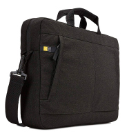 Стилна черна чанта за лаптоп до 15.6