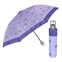 Дамски автоматичен светлосин чадър Perletti Time