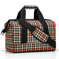 Стилна пътна чанта Reisenthel allrounder M, glencheck red