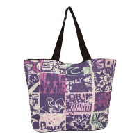 Лилава дамска плажна чанта HatYou 50см