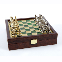 Шах с метални византийски фигури Manopoulos