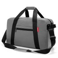 Голяма сива чанта за пътуване Reisenthel Traveller, canvas grey