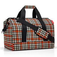 Голяма функционална чанта за пътуване Reisenthel allrounder L, glencheck red