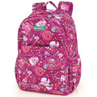 Детска ученическа раница за момиче Gabol Toy в розов цвят