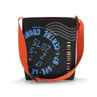 Практична шарена дамска малка чанта на точки за през рамо Reisenthel Shoulderbag S, Special Edition Stamps