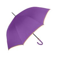 Елегантен дамски голям лилав голф чадър с автоматично отваряне Perletti Technology