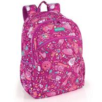 Детска розова раница за момиче Gabol Toy 23л, две отделения