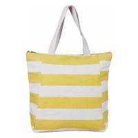 Жълта чанта за плажа на райета HatYou
