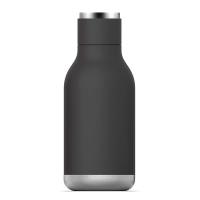 Черна малка термо бутилка Asobu Urban 460мл