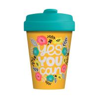 Свежа бамбукова чаша за кафе подходяща за пътуване Chic Mic
