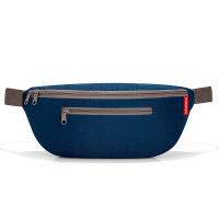 Тъмносиня лека чанта за през кръста Reisenthel Beltbag M, dark blue