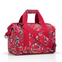 Пътна чанта на цветя Reisenthel allrounder M, Paisley ruby