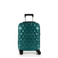 Стилен малък куфар за ръчен багаж на четири колела Gabol Air, тюркоаз