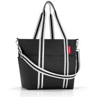 Голяма чанта за бебешки принадлежности Reisenthel Baby Organizer в черен цвят