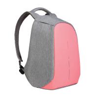Розова раница за път или ежедневието XD Design Bobby Compact побираща лаптоп 14