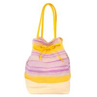 Свежа жълта плажна или ежедневна чанта HatYou