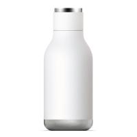 Симпатична бяла термо бутилка Asobu Urban 460мл